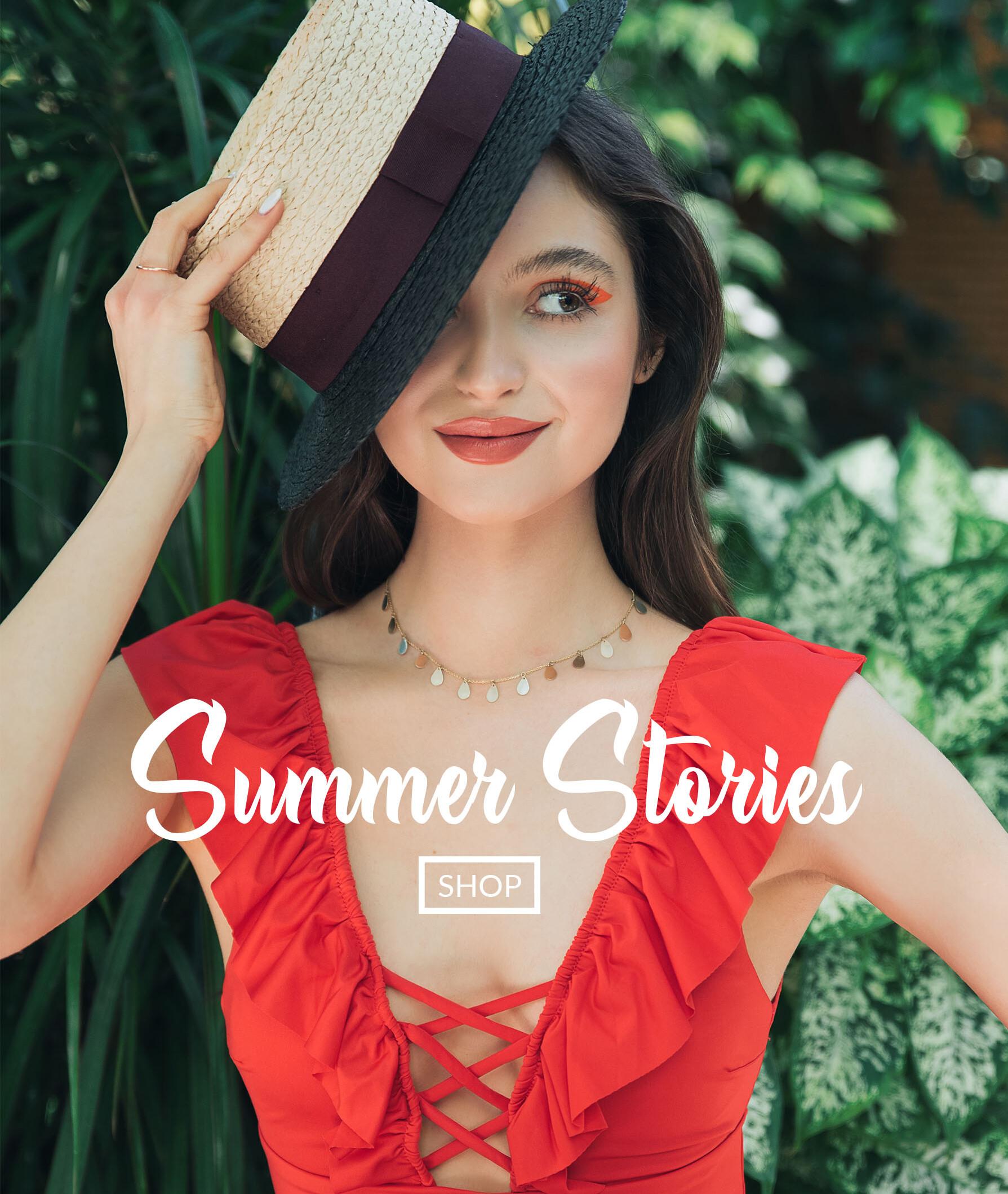 colectie de coliere summer stories