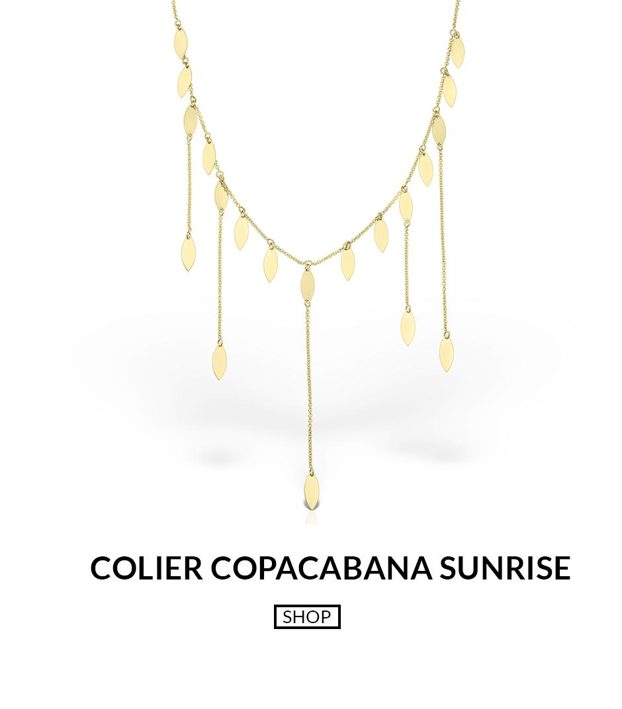 colier din aur copacabana sunrise