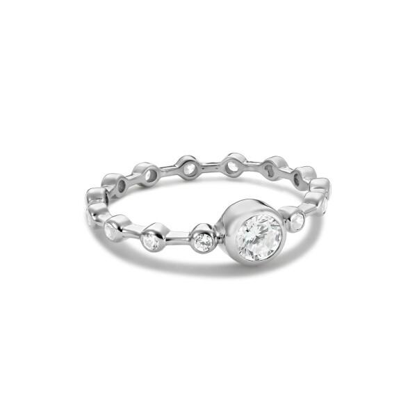 Inel din aur de 18k de logodna cu diamante