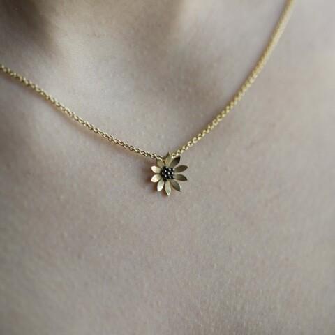 Colier din aur Floarea Soarelui