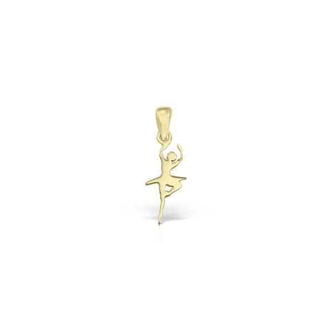 Pandantiv din aur balerina